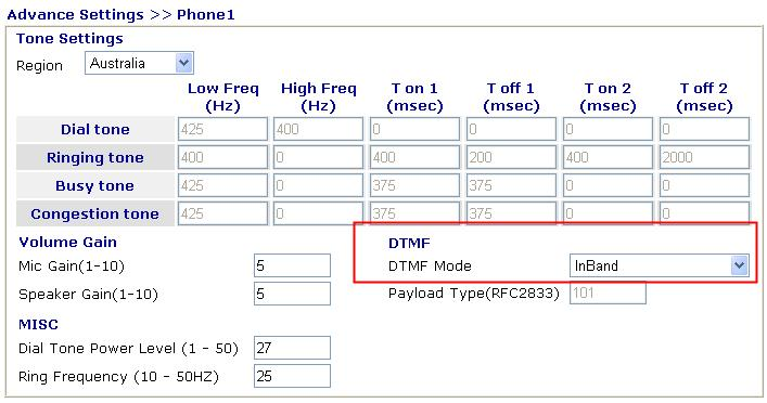 how to change voip settings